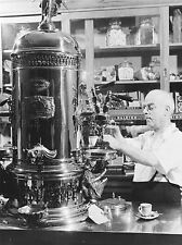 PHOTOGRAPHY BLACK WHITE ITALIAN AMERICAN CAFE ESPRESSO SHOP POSTER PRINT LV3627