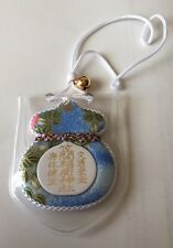 F/S New JAPAN cute Omamori Lucky Charm Amulet for happiness and lucky safe Blue