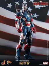 Hot Toys Iron Man 3 Iron Patriot DIE CAST MMS195 D01 Don Cheadle NRFB/Sealed!