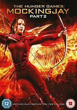 THE HUNGER GAMES MOCKINGJAY PART 2 ( TWO )  BRAND NEW SEALED GENUINE  UK DVD