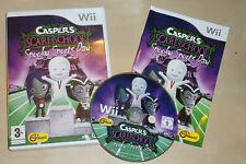 NINTENDO Wii CASPER'S SCARE SCHOOL SPOOKY SPORTS DAY +BOX INSTRUCT' COMPLETE PAL