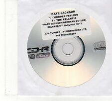 (FU875) Kate Jackson, Wonder Feeling / The Atlantic - 2012 DJ CD
