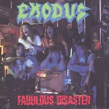 Fabulous Disaster by Exodus LIKE NEW!! (Overkill, Metallica, Slayer, Anthrax)