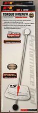 """PERFORMANCE TOOL 1/4"""" BEAM STYLE TORQUE WRENCH 0-80 INCH POUNDS   M195"""