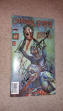 Cannibal Corpse Band SIGNED AUTOGRAPHED Comic Book Corpsegrinder Carcass Exhumed