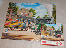 All Aboard Coca-Cola Train Engine Market Model T 1000 Piece Jigsaw Puzzle 24x30
