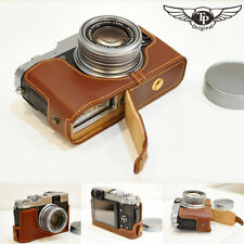 Handmade Genuine real Leather Half Camera Case bag cover for FUJI X20 FUJI X10