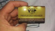 VIP PRIVILEGED MEMBER CARD 2016 edition - Exclusive