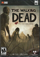 THE WALKING DEAD Limited Edition ALL 5 EPISODES +POSTER PC Game TellTale DVD NEW