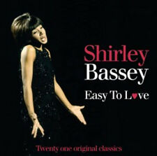CD SHIRLEY BASSEY EASY TO LOVE NIGHT & DAY APRIL IN PARIS CRY ME A RIVER ETC