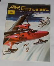 AIR ENTHUSIAST OCTOBER 1973 - ROCKWELL BUCKEYE/THE BF 110 - HERMANN'S DESTROYER