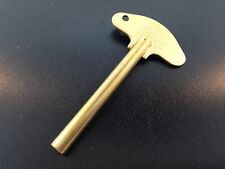 New Solid Brass Schatz Anniversary 400 Day Trademark Clock Key #3  3.0 mm