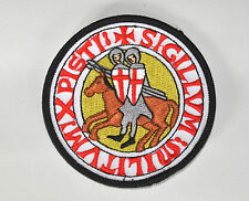 Knights Templar Emboidered Patch - Knights Seal (EP004)