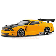 HPI Racing 2005 Ford Mustang GT-R 200mm Clear Body 1:10 Touring RC Cars #17504