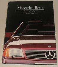 Riesiger Bildband: Mercedes Benz R129 SL, W 126 SE SEL SEC, R 107 SL + SLC, R113