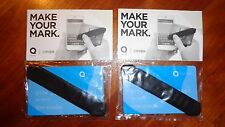 Lot of 2 MAKE YOUR MARK QUIRKY CIPHER Touch Screen STYLUS and Credit Card Holder