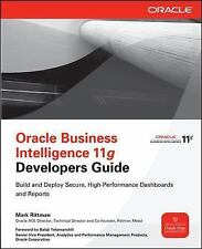 ORACLE BUSINESS INTELLIGENCE 11G DEVELOPERS GUIDE - MARK RITTMAN (PAPERBACK) NEW