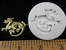 Dragon (Facing Left) Polymer Clay Mold (#MD1455)