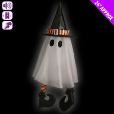 Spinning Moving  Ghost  With Sound Halloween Party Prop Decoration