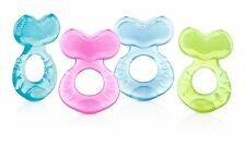 Nuby Silicone Teether with Bristles - Colors May Vary - Brand New Sealed