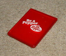 "Dr. Pepper - Be A Pepper Vintage 2""x3"" Compact Purse Mirror w/ Case Red & White"