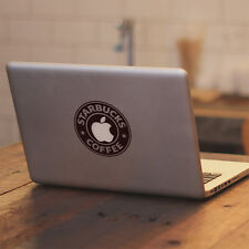 "Starbucks Glowing Apple for Macbook Air Pro 11 13 15 17"" Vinyl Decal Sticker"