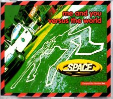 SPACE - ME AND YOU VERSUS THE WORLD - 4 TRACK 1996 CD SINGLE 2