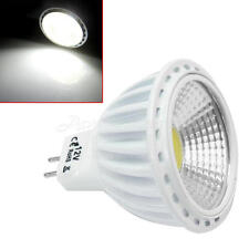 Luce Lampadine GU5.3 MR16 COB LED 6500K  6W 420LM Light Bianco Spotlight Interni