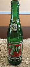 7-Up VINTAGE SODA BOTTLE 12 OZ ~ Detroit, MI