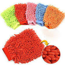 Multicolor Super Mitt Microfiber Car Wash Washing Cleaning Glove Brand New