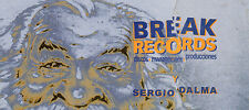 SERGIO DALMA / BREAK RECORDS - ULTRA RARE 1999 CHRISTMAS GREETING POSTCARD