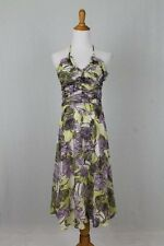 Anthropologie LITHE Purple & Lime 50's inspired sundress w/ tulle Petticoat 8