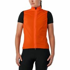 NEW Giro Women's Chrono Wind Vest - Cycling - Orange - Small - Retail $100