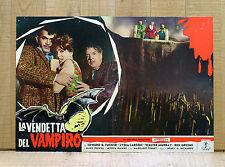 LA VENDETTA DEL VAMPIRO fotobusta poster El Mundo De Los Vampiros Tucker Horror