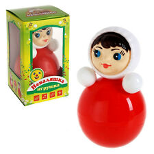 Russian Roly Poly Toy Nevalyashka Baby Musical Doll Неваляшка Made in Russia
