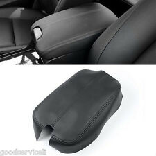 FOR 08-12 HONDA ACCORD BLACK LEATHER CONSOLE LID ARMREST COMPLETE COVER KIT OEM
