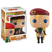 Funko Street Fighter POP Cammy Vinyl Figure NEW Toys Collectibles Video Game
