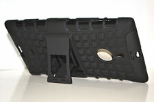 Black Heavy Duty Strong Tradesman TPU Case Cover Stand For Nokia Lumia 1520