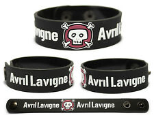 AVRIL LAVIGNE Rubber Bracelet Wristband Under My Skin Goodbye Lullaby