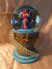 DISNEY ** JESSICA RABBIT SNOW GLOBE WITH LE 500 PIN ** NIB