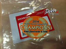 Honda 2014 2015 CBR1000RR Repsol Fireblade MotoGP World Champions Sticker Decal