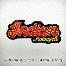 Indian Motocycle Embroidered Patch Iron on or sew, Apache Auto Road Life Freedom