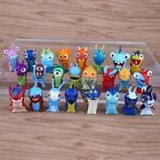 24pcs Slugterra Elemental Lumache Toy Cartoni animati PVC Action Figure
