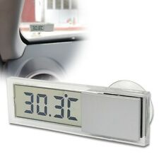 Car Windshield / Rear View Mirror LCD Digital Room Temperature Meter Thermometer