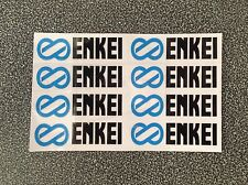 ENKEI RPF1 Stickers  Decal Alloy Wheel JDM 1 set of 8