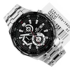 IMPORTED CASIO EFR-539D-1AV CHRONOGRAPH MENS BLACK WATCH