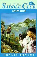 Snow Ride (Saddle Club #20)
