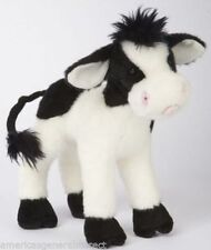 "SWEET CREAM COW Douglas 8"" stuffed plush animal farm black white"