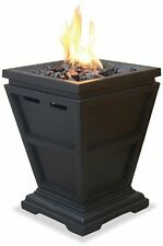 UniFlame LP Gas Propane Outdoor Table Top Fireplace Fire Pit  -- New