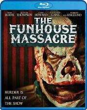 The Funhouse Massacre (Jere Burns) Region A BLU RAY - Sealed